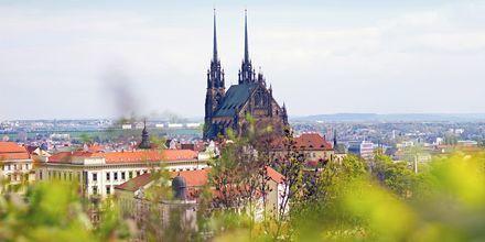 Brno, Tjeckiens näst största stad.