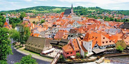 Český Krumlov är en bedårande stad i Tjeckien.