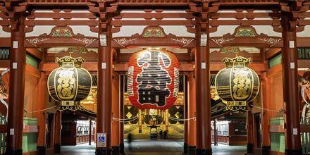 Tokyos äldsta tempel heter Sensoji och är det mest kända templet.