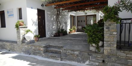Hotell Topaz i Kokkari på Samos, Grekland.