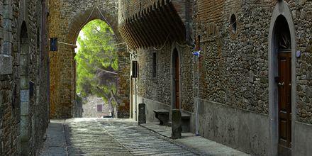 Toscana i Italien.