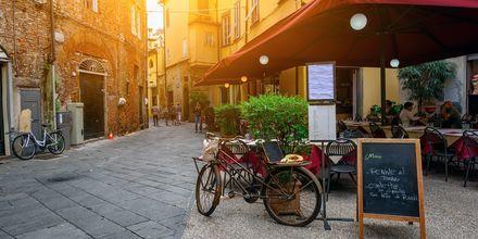 Lucca är huvudort i provinsen med samma namn och är en pittoresk och välbehållen gammal stad.