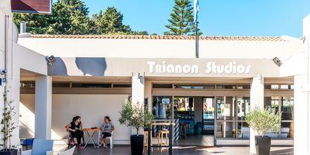 Hotell Trianon på Zakynthos, Grekland.
