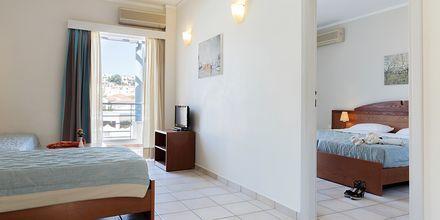Tvårumslägenhet på hotell Triton i Agii Apostoli på Kreta.