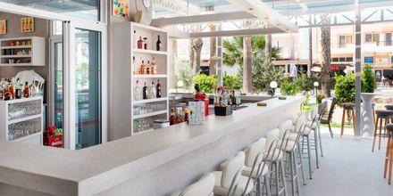 Bar på hotell Tropical Sol i Tigaki på Kos, Grekland.