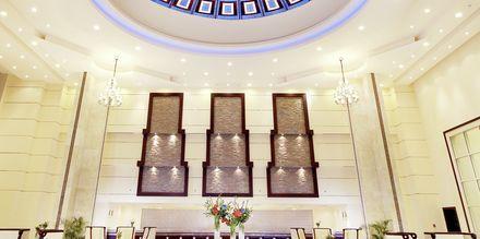 Lobby på hotell Tropitel Sahl Hasheesh, Egypten.