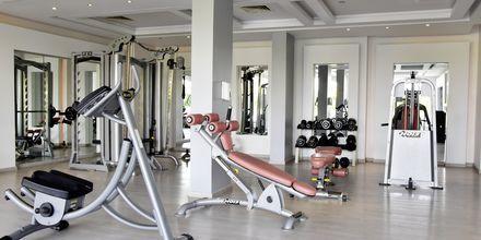 Gym på hotell Tropitel Sahl Hasheesh, Egypten.
