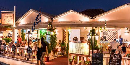 Restaurang i Tsilivi på Zakynthos, Grekland.