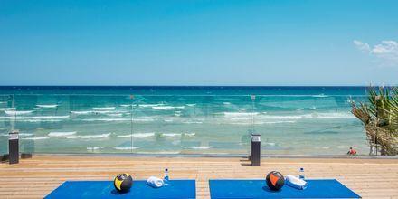 Gratis träningspass  på Tsilivi Beach på Zakynthos, Grekland.