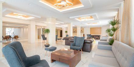 Lobbyn på hotell Tsilivi Beach på Zakynthos, Grekland.