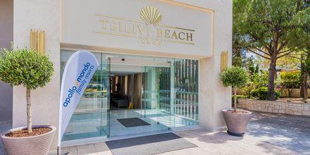 Hotell Tsilivi Beach på Zakynthos, Grekland.