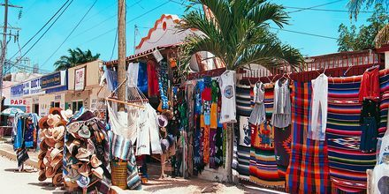 Byn Tulum på Riviera Maya, Mexiko.
