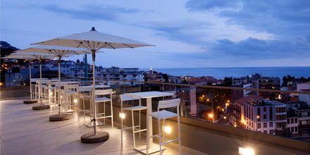 Takterrassen på hotell Turim Santa Marina i Funchal på Madeira.