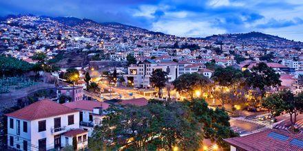 Utsikt från hotell Turim Santa Marina i Funchal på Madeira.