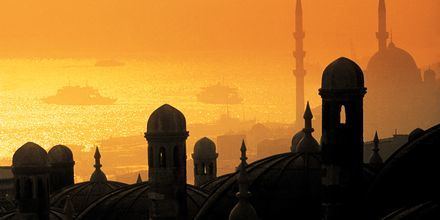 Skymning i Turkiet.