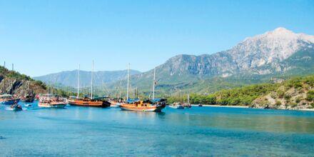 Åk på kryssning i en traditionell Gulet båt i Turkiet.