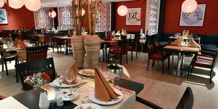 Kinesisk restaurang på hotell Turquoise i Side, Turkiet.