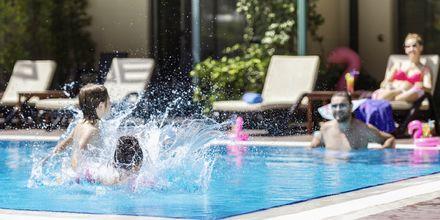 Pool på hotell Turquoise i Side, Turkiet.