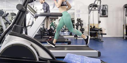 Gym på hotell Turquoise i Side, Turkiet.