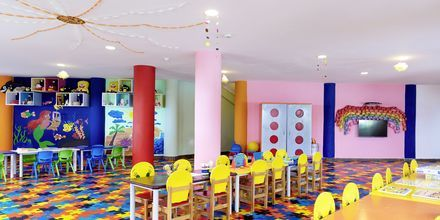 Barnklubb på hotell Turquoise i Side, Turkiet.