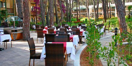 Restaurang Bougainvillea på hotell Turquoise i Side, Turkiet.