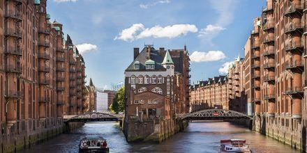 Vattenvägar i Hamburg, Tyskland