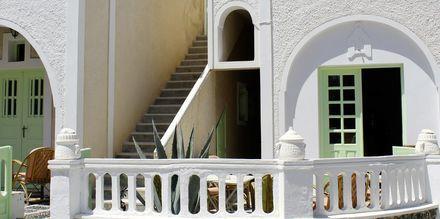 Hotell Tzortzis i Kamari på Santorini.