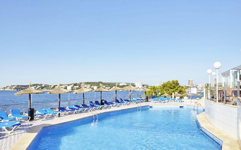Universal Hotel Florida i Magaluf på Mallorca.