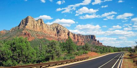 Ta en road trip i USA.