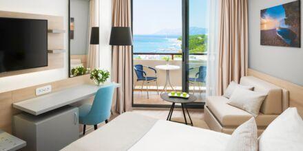 Dubbelrum på hotell Meteor på Makarska rivieran, Kroatien.