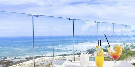Utsikt från hotell Valle Mar i Puerto de la Cruz på Teneriffa.