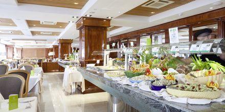 Buffé-restaurangen på hotell Valle Mar i Puerto de la Cruz på Teneriffa.