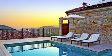 Trerumsvilla på Salvator Hotel Villas & Spa i Parga, Grekland.