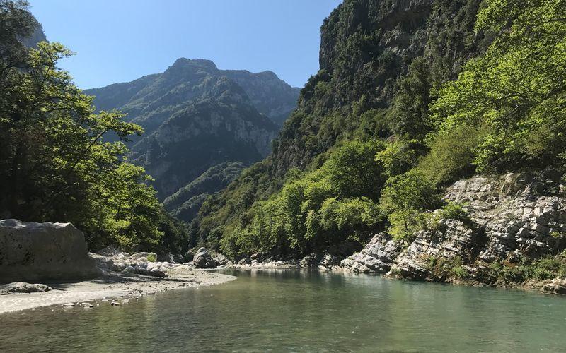 Vandring i Pindusbergen