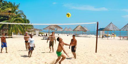 Beach volley i Varadero, Kuba.