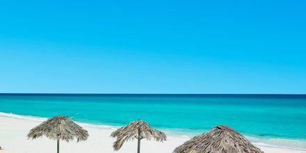 Stranden i Varadero på Kuba.