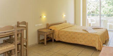 Enrumslägenhet på Hotell Varvara's Diamond i Rethymnon, Kreta.