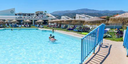 Pool på hotell Varvara's Diamond i Rethymnon, Kreta.