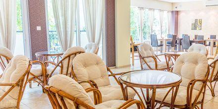 Sällskapsrum på hotell Varvara's Diamond i Rethymnon, Kreta.