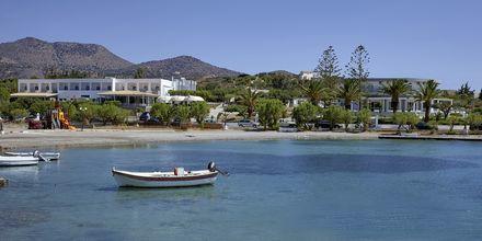 Hotell Vasia Ormos i Agios Nikolaos på Kreta, Grekland.