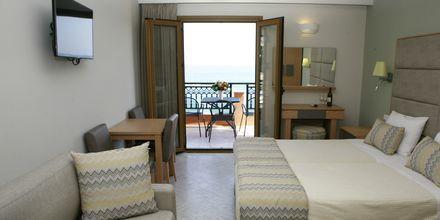 Enrumslägenhet på hotell Vekios i Parga, Grekland.