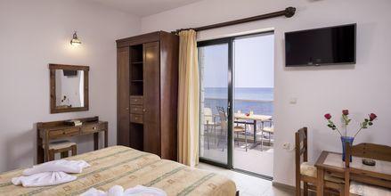 Tvårumslägenhet på hotell Veli i Kato Stalos på Kreta, Grekland.