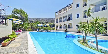 Hotell Vergina, Karpathos Stad, Grekland.