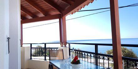 Hotell Veronica Beach i Votsalakia på Samos, Grekland.