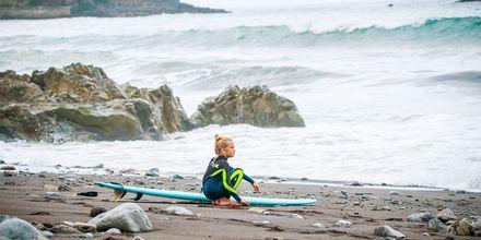 Surfing på Madeira