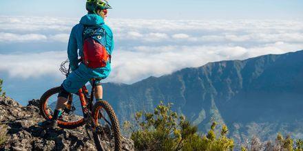 Madeira är perfekt för mountainbikecyklister.