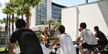 Indoor cycling på VIDAMAR Resorts Madeira, Portugal.