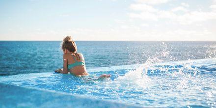 Infinitypool på VIDAMAR Resorts Madeira i Portugal.