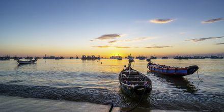 Strand på Phu Quoc i Vietnam.
