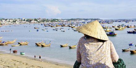 Mui Nee i Phan Thiet, Vietnam.